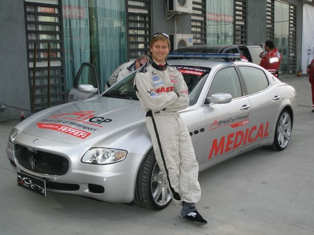MEDICAL CAR DRIVER FOR BRITISH TOURING CARS