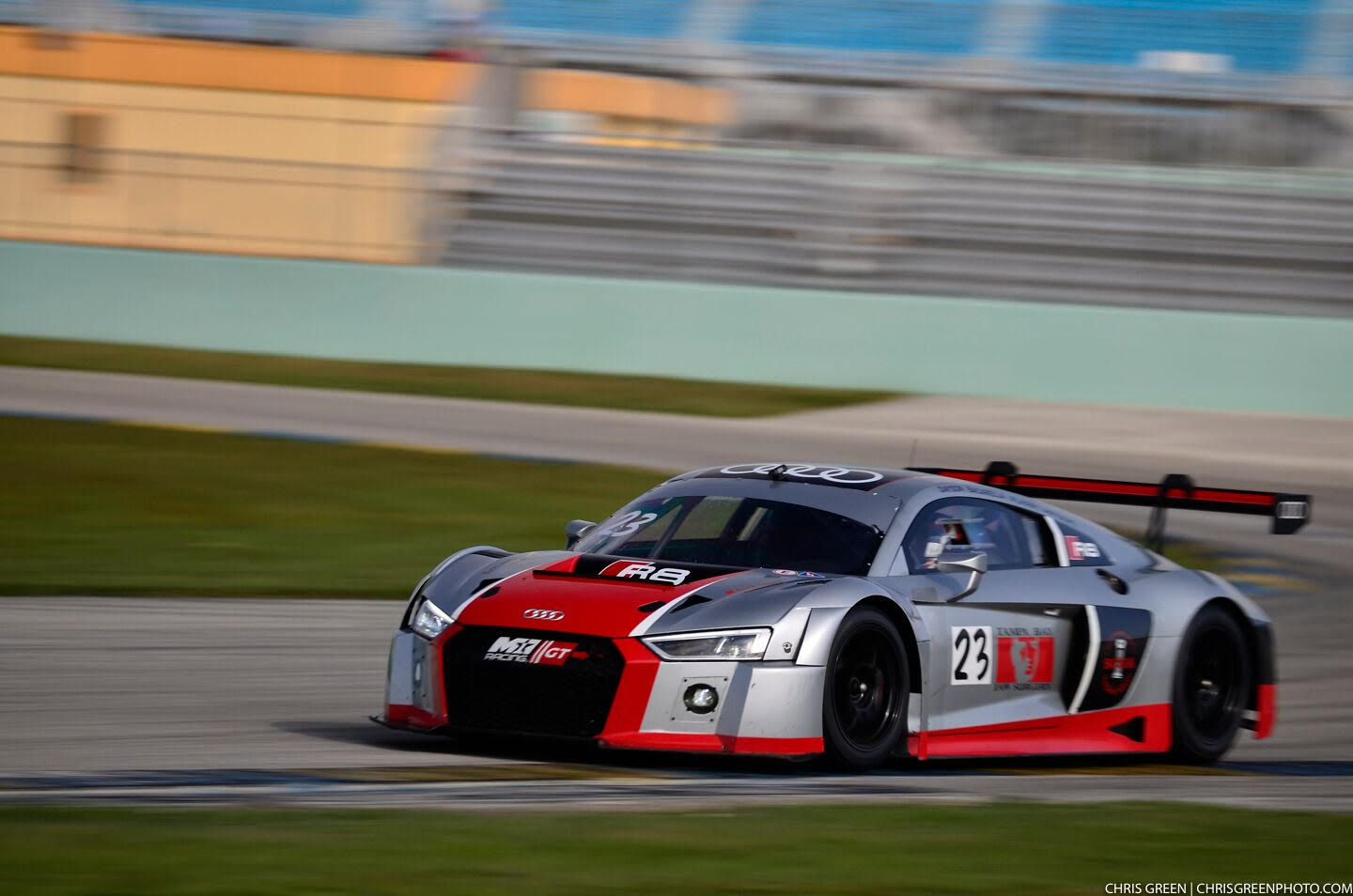 PIRELLI WORLD CHALLENGE SPRINT X – M1GT RACING – AUDI R8 LMS ULTRA GT3