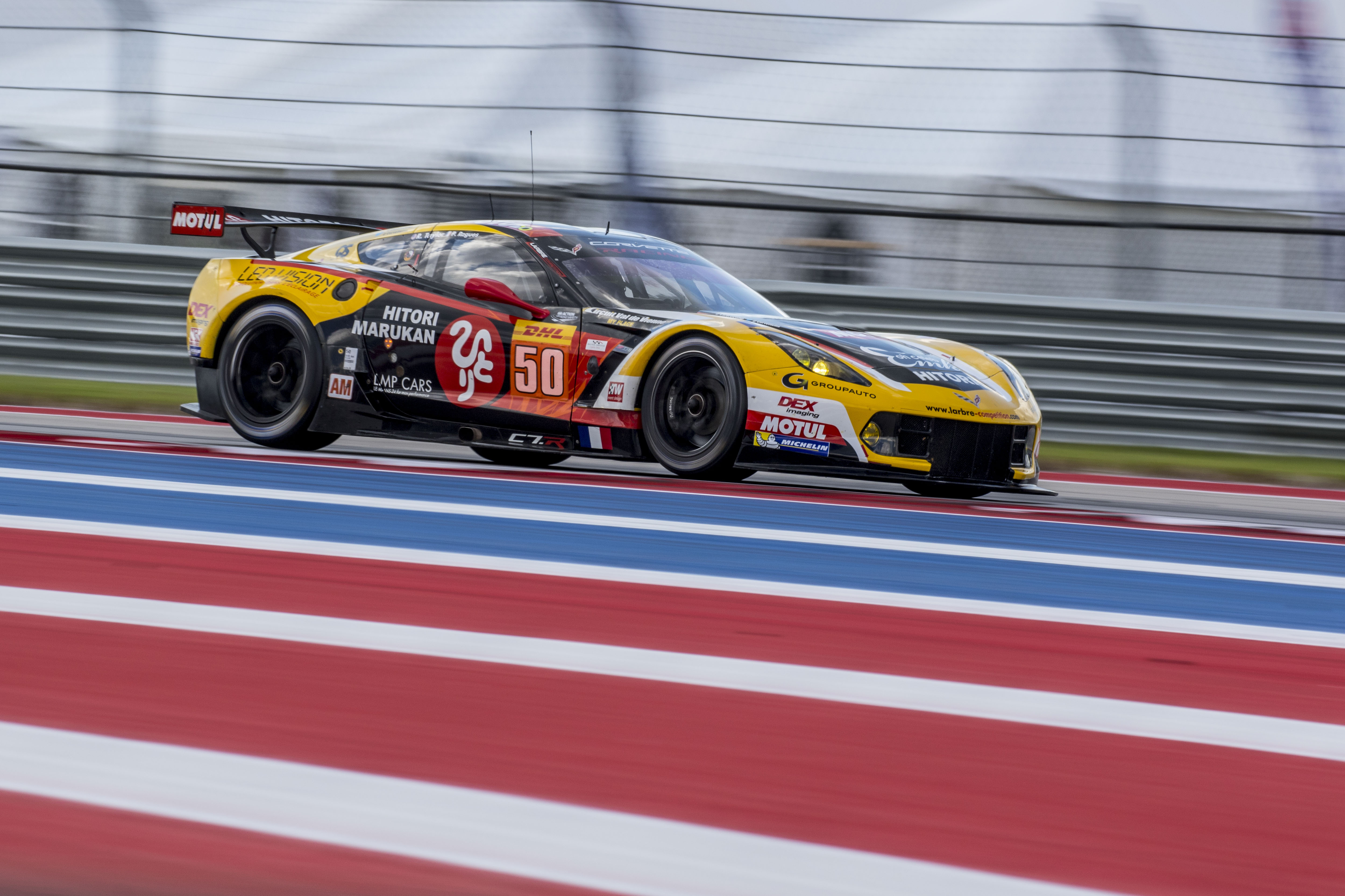 WORLD ENDURANCE CHAMPIONSHIP – LARBRE COMPETITION – CORVETTE C7R GTE